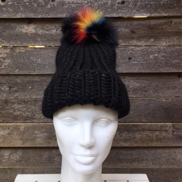 b65b955cfa9 Eugenia Kim Rain Pompom Wool Hat